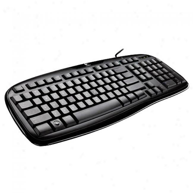 Logitech Classic Keyboard 200 W/ Usb Interface