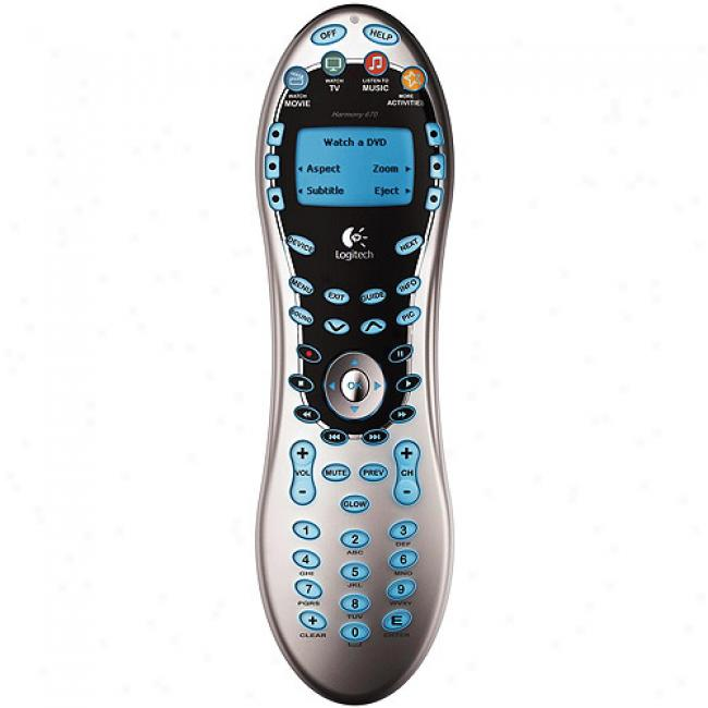 Logitech Harmony 670 Advanced Universal Remite Control