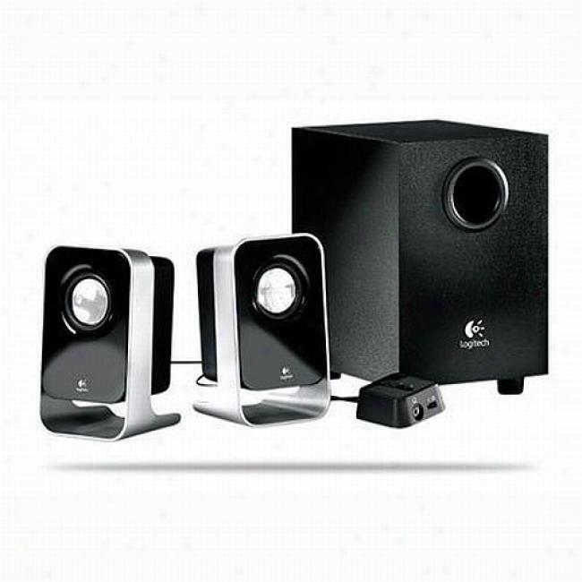Logitech Ls21 Multimedia Speaker System Fot Pcs