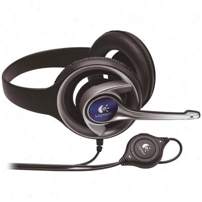 Logitech Precision Pc Gaming Headset W/ Microphone