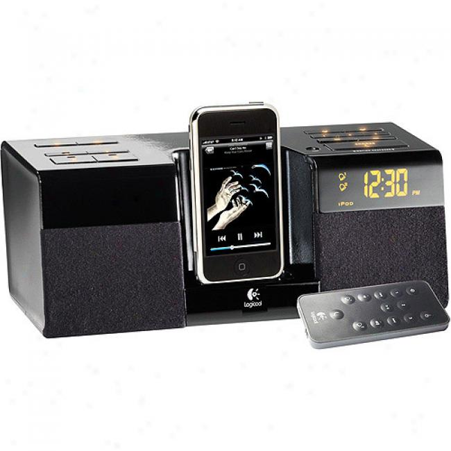 Logitech Pure-fi Anytime Ipod/iphone Alarm Clock
