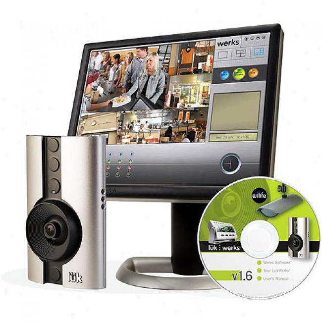 Logitech Wilife Digital Video Securuty Camera Indoor Master System