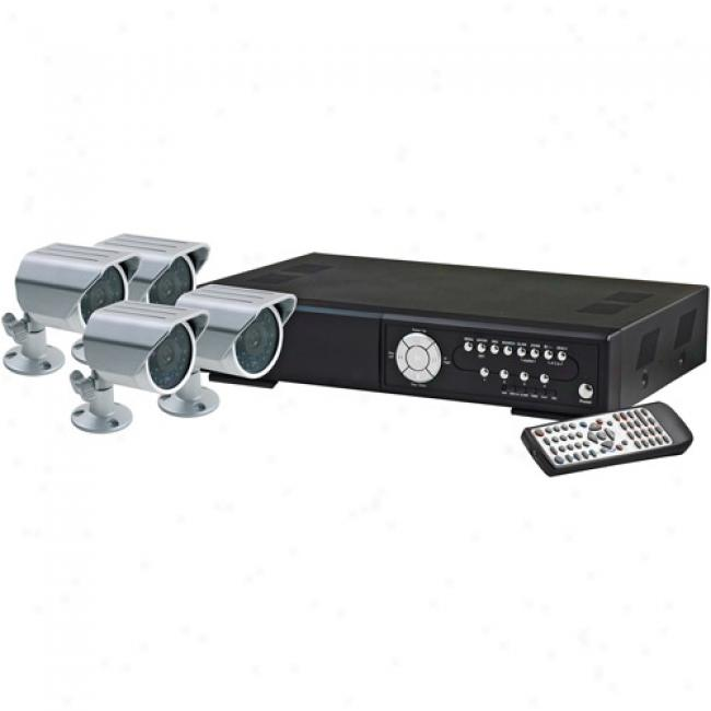 Lorex 4-channel Netting Digital Video Recorder In the opinion of 4 Cameras