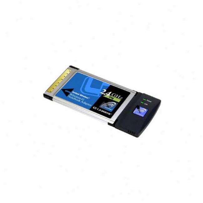 Lynksys Wirleds 802.11g Cardbus