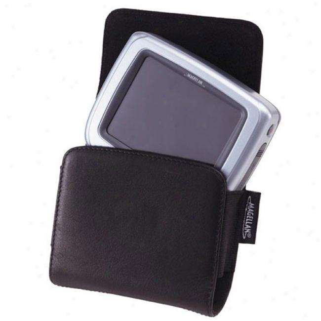 Magellan Leather Pouch For Roadmate 2000/ 2200t/ And Crossover Gps, 980906