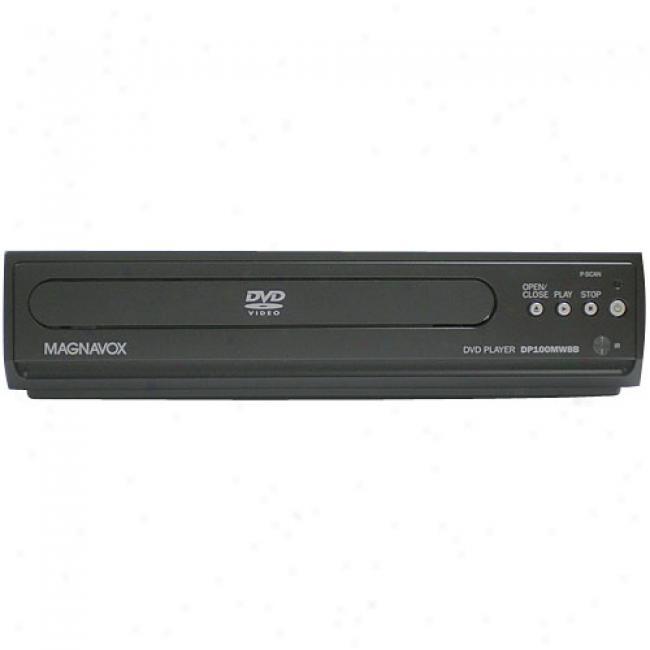 Magnavox Dp100mw8b Compact Dvd Plzyer, Black