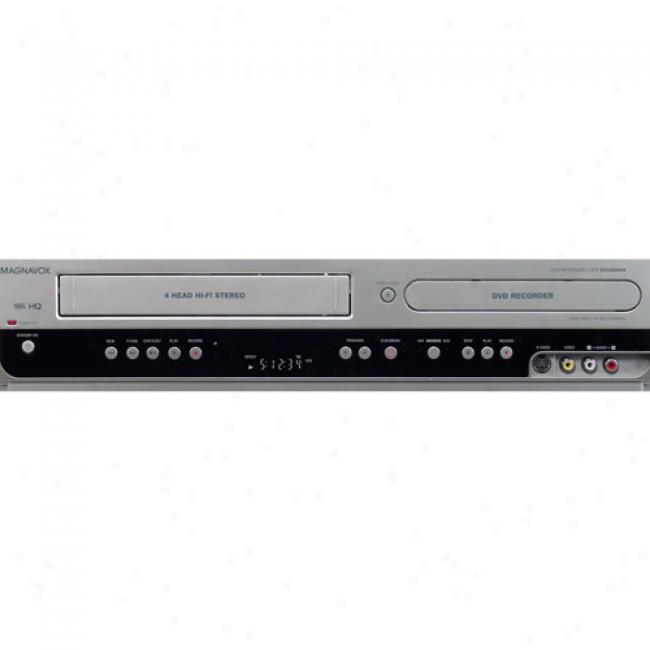 Magnavox Dvd Recorder/vcr Combo, Zv420mw8