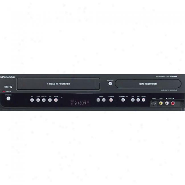 Magnavox Dvd Recorder/vcr With Digital Tuner, Zv450mw8