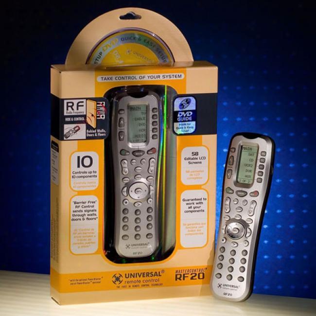 Mastercontrol All Remote Control, Rf20