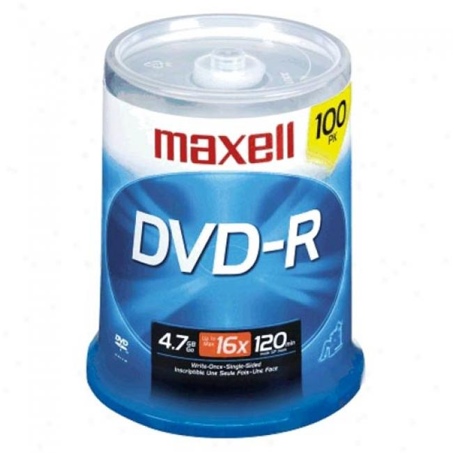 Maxeell 100-pack 16x Dvd-r Spindle