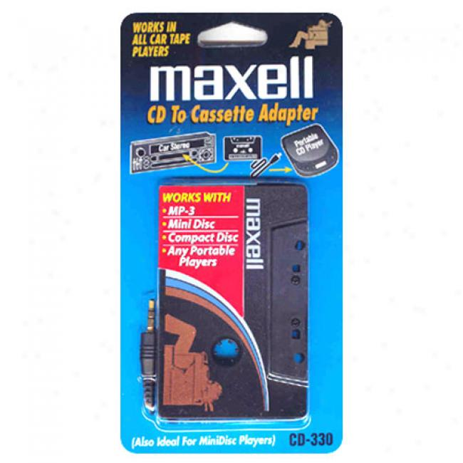 Maxell Cd/mp-3to-cassette Adapter