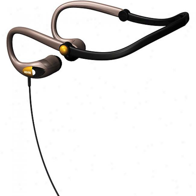 Maxell Deluxe Stefe Folding Neckband Earbuds, Nb-hb310
