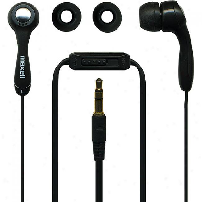 Maxell Digital Ear Buds, Black, Eg-p412