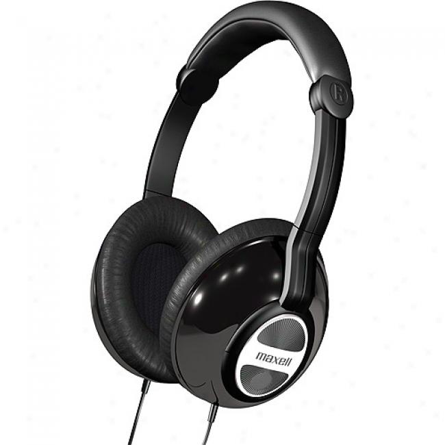 Maxell Full-sized Folding Stereo Headphones, Dhp-ii