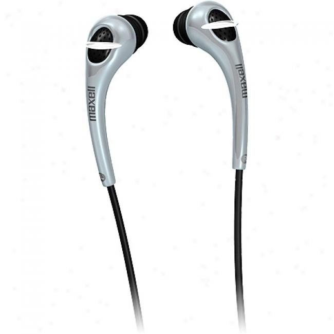 Maxell Stereo Earbuds W/ In-line Volume Control, Eb-425