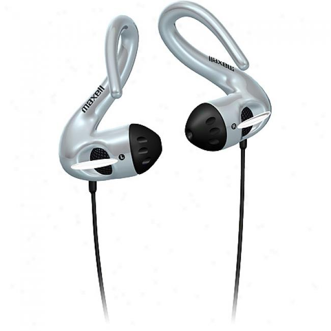 Maxell Stereo Wrap-around Headbuds W/ In-line Volume Control, Hb-375
