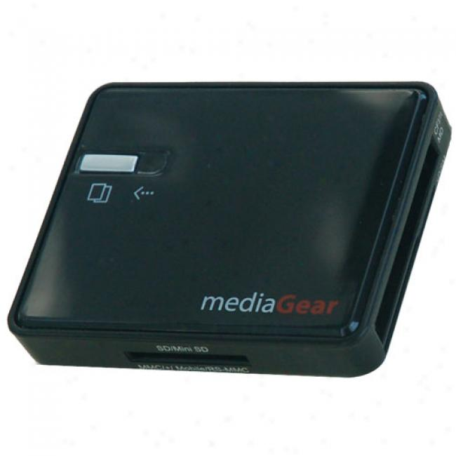 Mediagear Ultra Allcards Memory Card Reader/writer - Including Sdhc