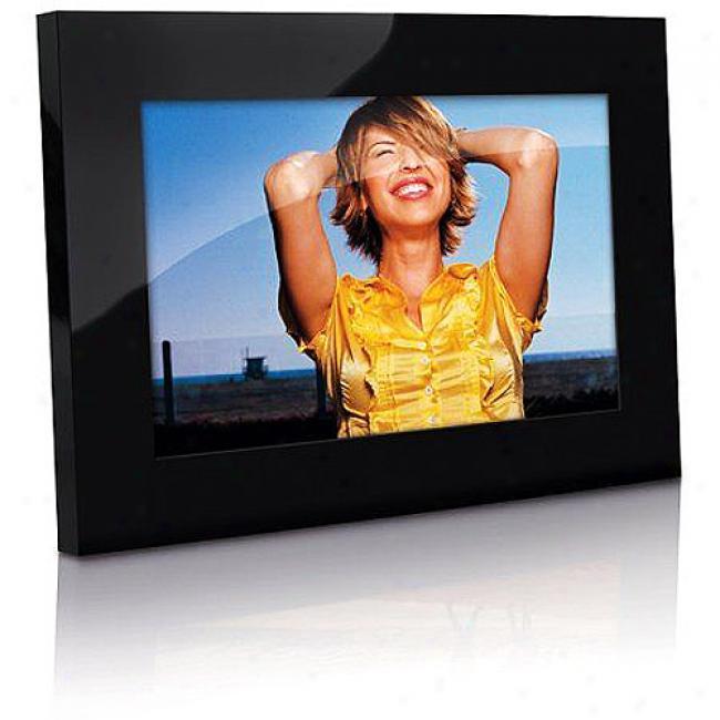 Memorex 10'' Digital Photo Frame, Black