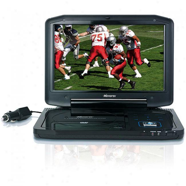 Memorex 10.2'' Widescreen Portable Dvd Player Mvdp1102