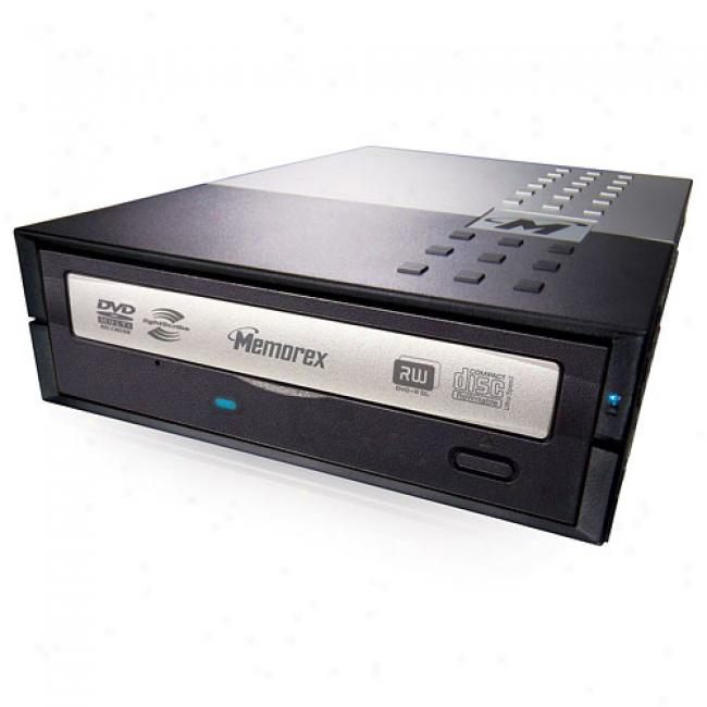 Memorex 20x Dvd+/-rw External Drive With Lightscribe