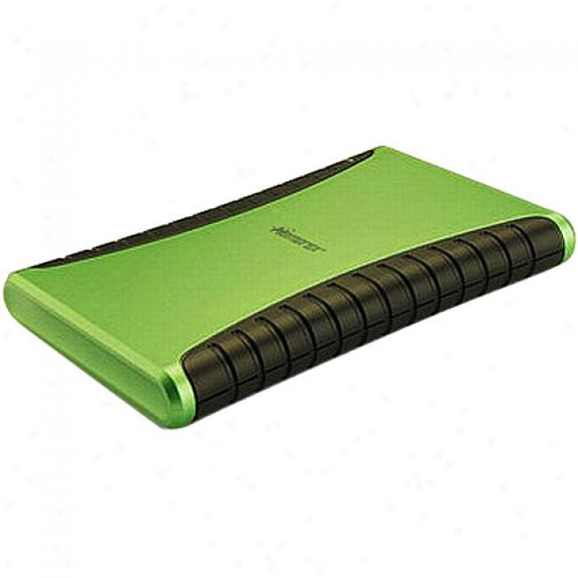 Memorex 320gb Usb Hard Drive - Tropic Green