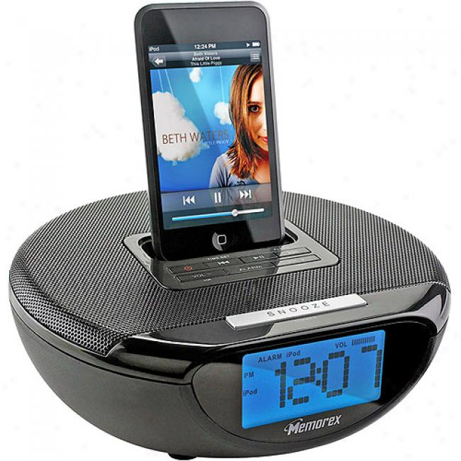 Memorex Speaker System Fpr Ipod With Digital Fm Radio, Mi2001fm