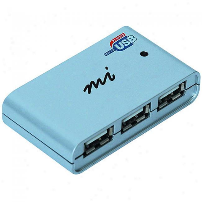 Micro Innovations 4-port Hi-speed Usb Hub, Usb210p