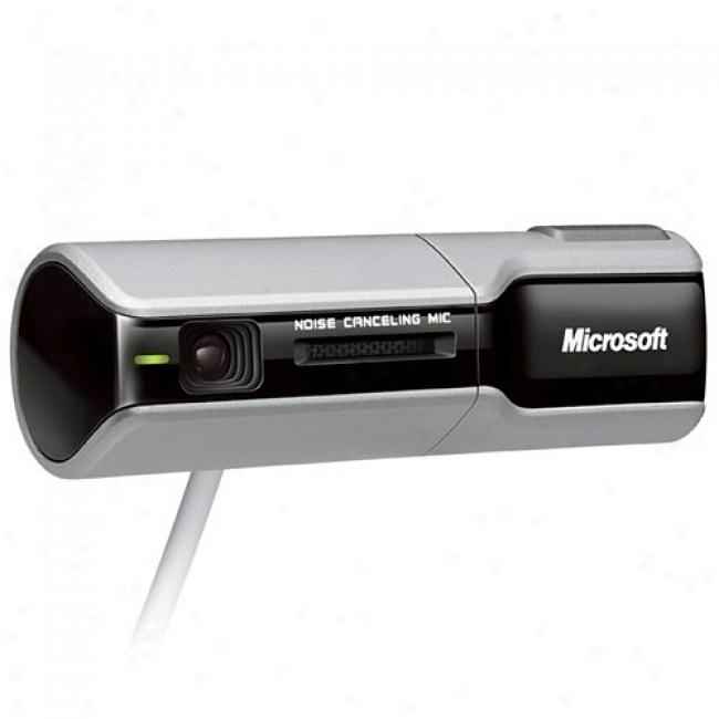 Microsoft Lifecam Nx-3000 Usb Webcam, Fits Notebooks And Lxd Monitors