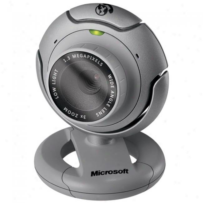 Microsoft Lifecam Vx-6000 Usb Webcam