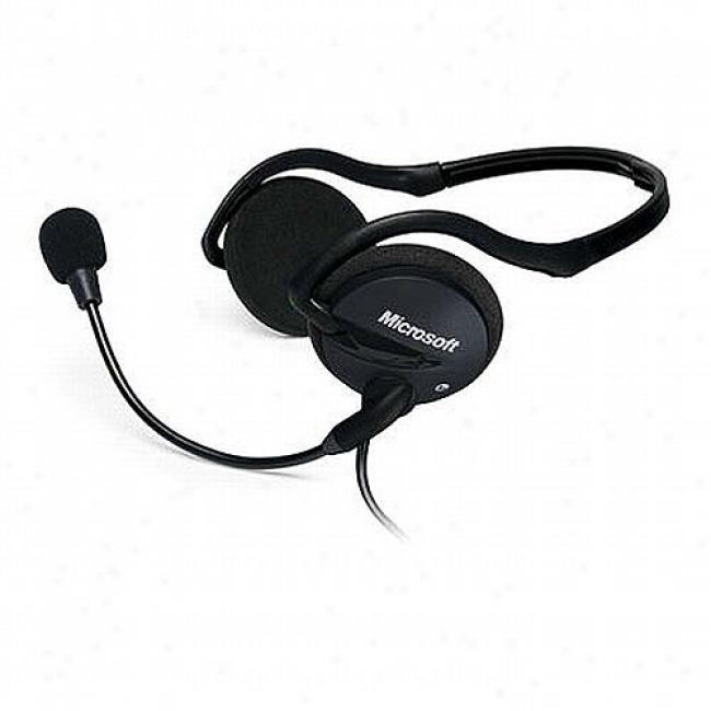 Microsoft Lifechat Lx-2000 Headphones For Windows Xp/vista