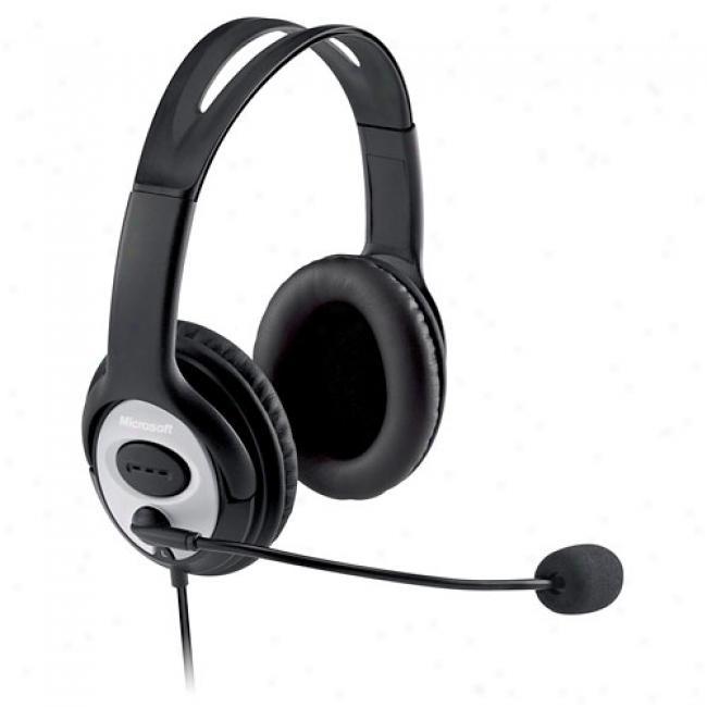 Microsoft Lifechar Lx-3000 Usb Digital Stereo Headset