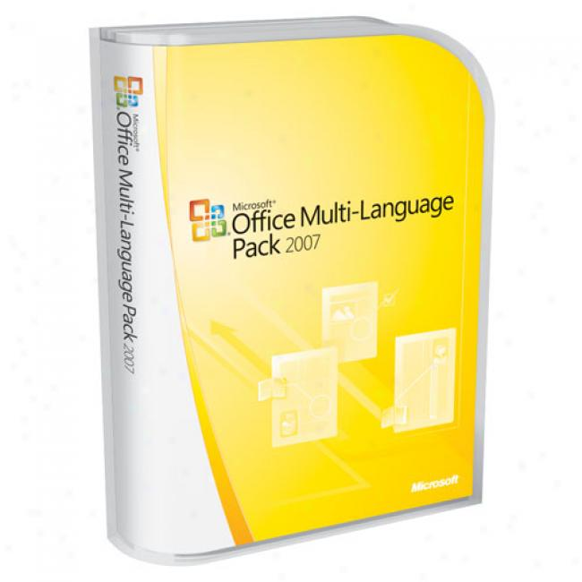 Microsoft Office 2007 Multi Language Pack