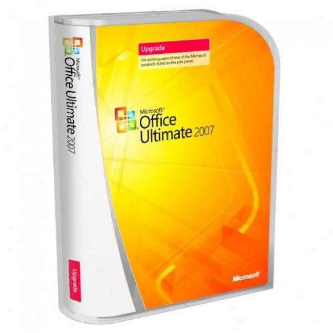 Microsoft Office 2007 Ultimate, Upgrade