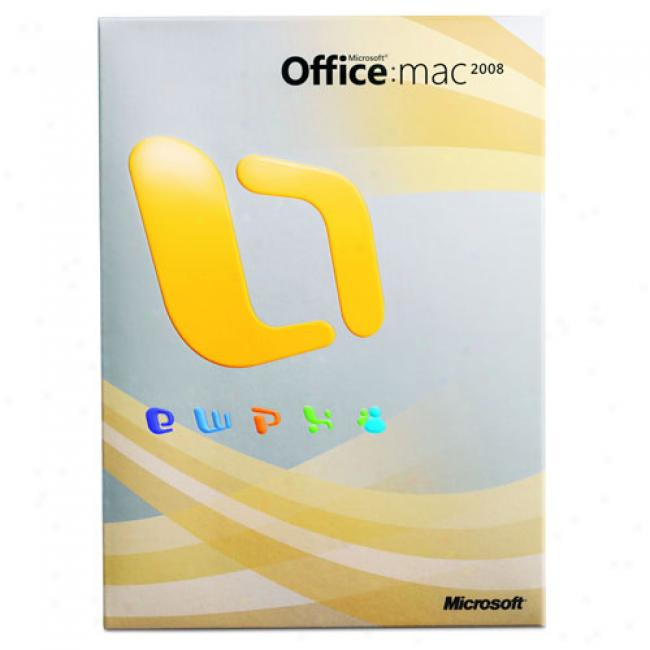 Microsoft Office 2008 For Mac (english Dvd)