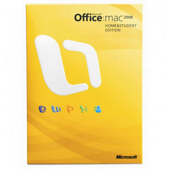 Microsoft Office 2008 For Mac Home And Student Edition (english)