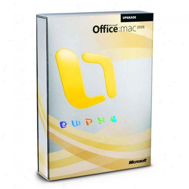 Microsoft Office 2008 For Mac Upgrade (english Dvd)