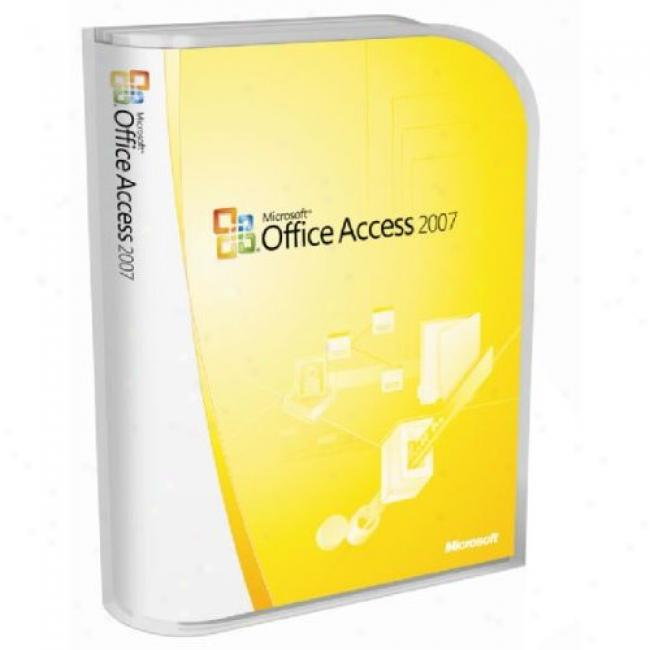 Microsoft Office Access 2007, Upgrade