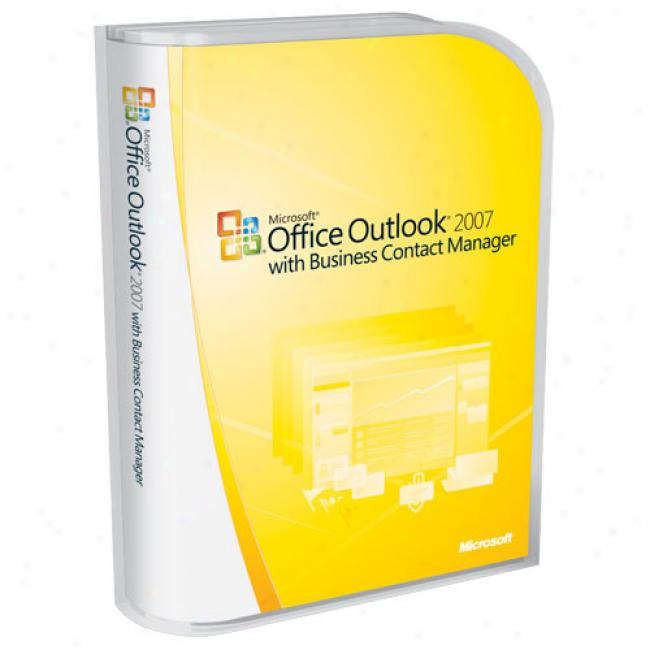 Microsoft Office Outlolk 2007 With Business Contact Manager