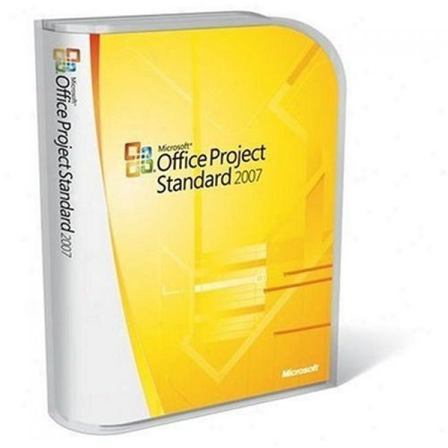 Microsoft Company Project Standard 2007, Upgrade