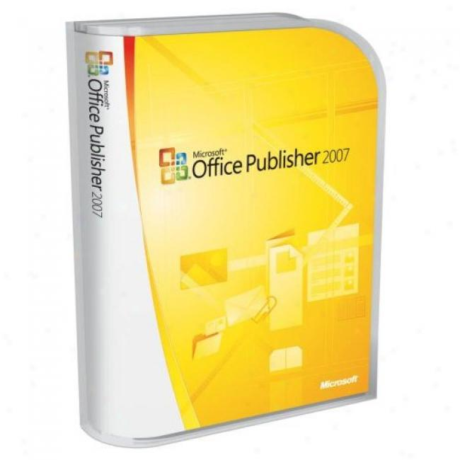 Microsoft Office Publisher 2007, Upgrade
