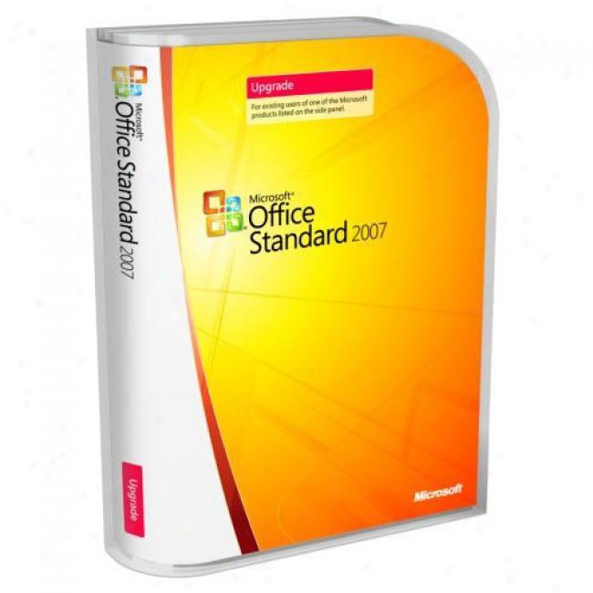 Microsoft Ofice Standard 2007, Upgrade
