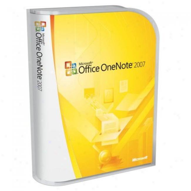 Microsoft Onenote Home & Student 2007