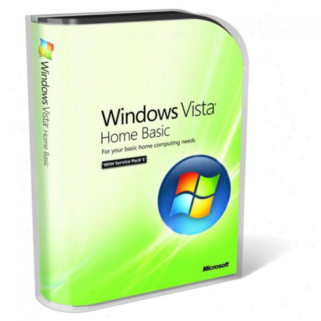 Microsoft Windows Vista Home Basic Service Pack 1