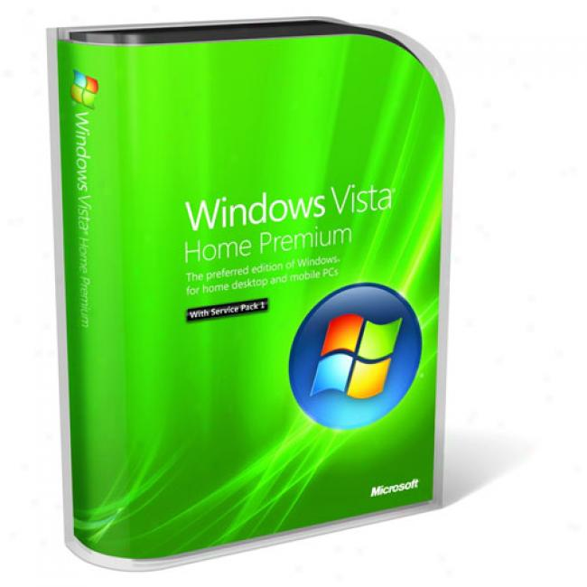 Microsoft Windows Vista Home Premium Servcie Pack 1