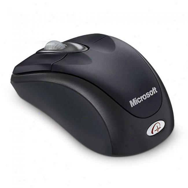 Microsoft Wireless Notebook Opical Mouse, Slate Black