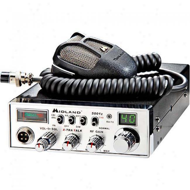 Midland 40-channel Cb Radio With Digiital Tuner