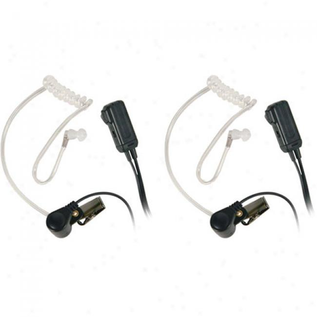 Midland Avp-h3 Surveillance Headsets For Gmrs/f5s Radios, Pair