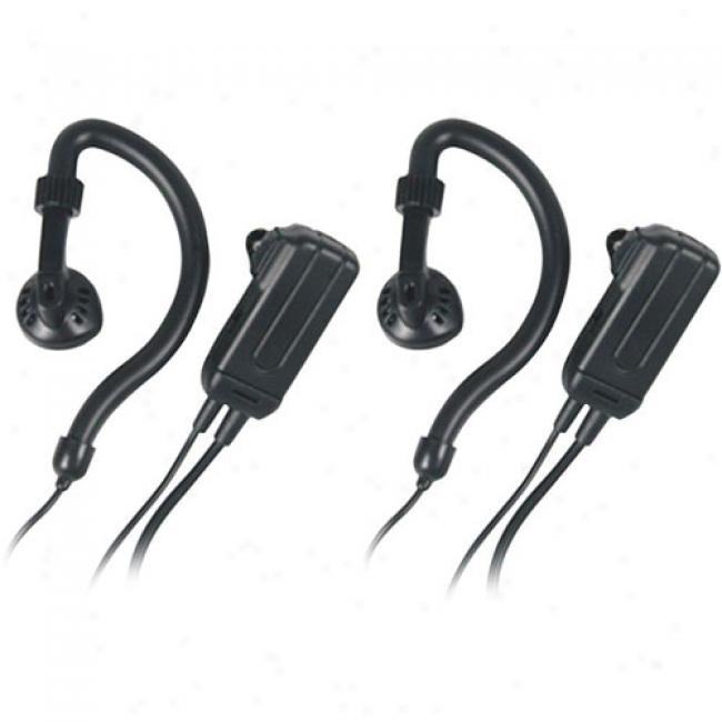 Midland Avp-h4 Headsets For Gmrs/frs Radios, Pair