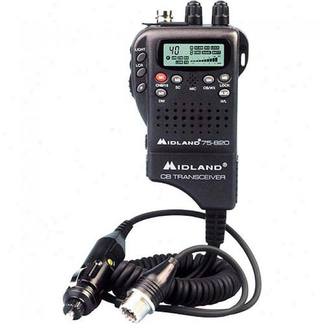 Midland Miniature Handheld Cb/weather Radio