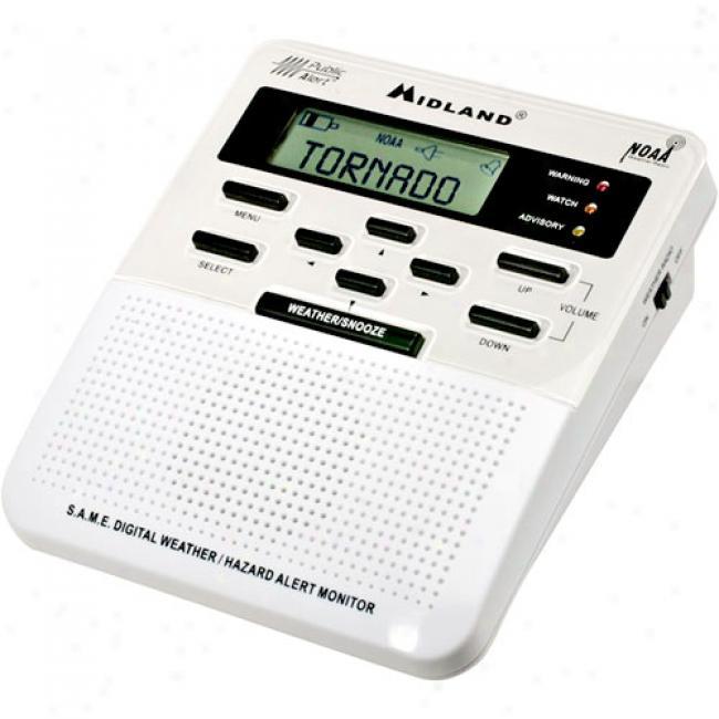 Mdland Weather/hazard Radio With Same Local Alerts